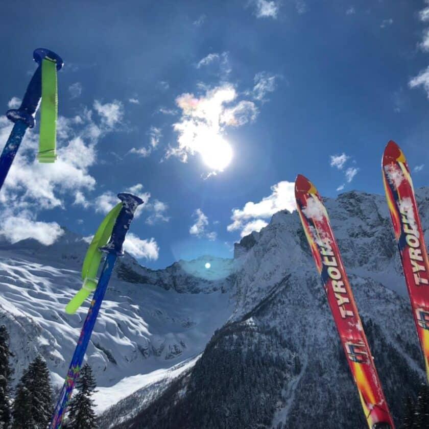 Лыжи в Домбае